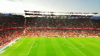 SEVILLA FC-RCD ESPANYOL.HIMNO DEL CENTENARIO.LA LIGA 18-19 (HD)
