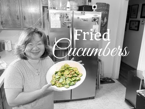 HD Fried Cucumbers : Easy Asian - Redneck Fusion Cooking Recipes