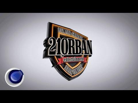 Анимация и рендер 3D логотипа в Cinema 4D (3D Logo Animation in Cinema 4D)