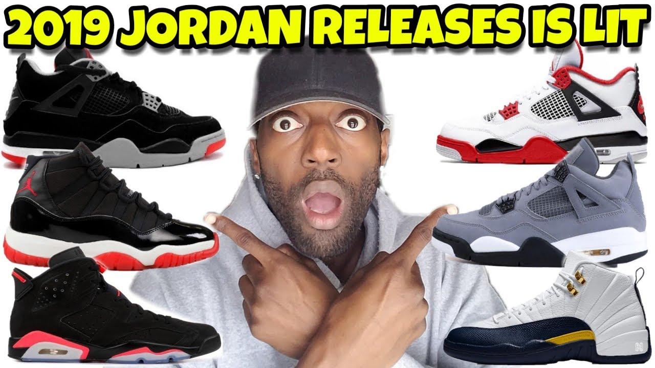 3c7d293b0b1 2019 Jordan Rumor Releases: Jordan 11 Bred, Jordan 4 Bred, Jordan 6 Infared  Red, Jordan 4 Cool Grey