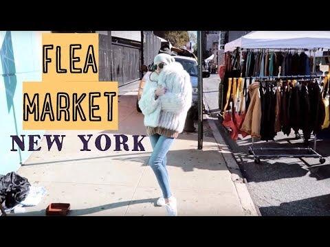 Барахолка на Манхэттене. Hell's Kitchen Flea Market