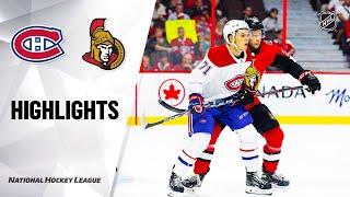 09/21/19 Condensed Game: Canadiens @ Senators