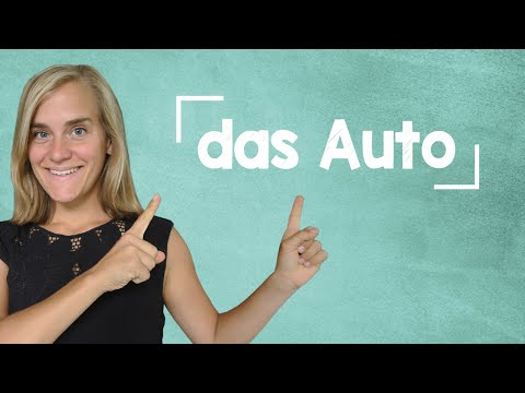 German Lesson (204) - The Car Parts - B1
