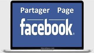 Comment Partager une Page Facebook