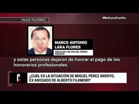 Cuarto Poder: La situación legal del ex abogado de Alberto Fujimori