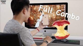 Combo Apple hơn 100 triệu của mình đã hoàn thành!
