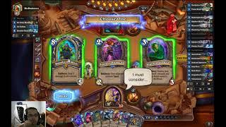 Hearthstone wild kingsbane rogue gameplay - BSing with huge kingsbane!