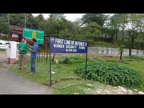 India Bangladesh open border, Dawki-Tamabil border