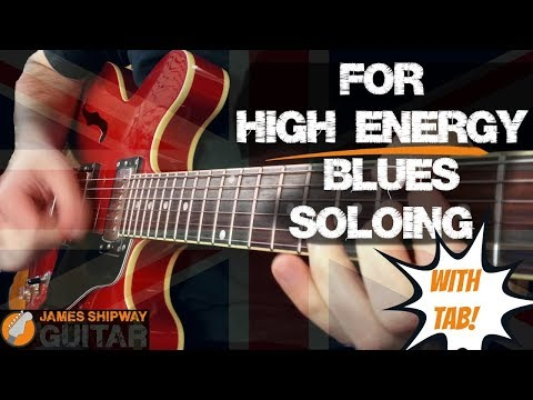 Blues Guitar Lesson High Energy British Blues Licks Eric Clapton, Peter Green, Mick Taylor Style!