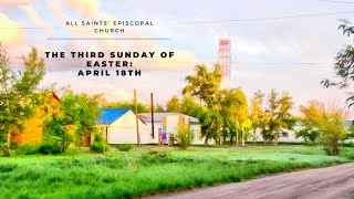 """The Third Sunday of Easter Sunday"" 