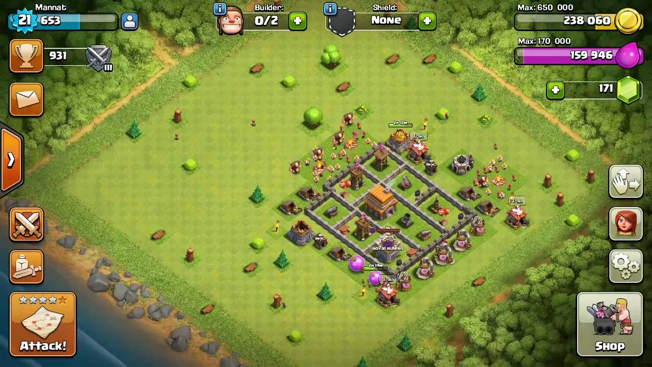 Naked Clash of Clan . - YouTube
