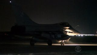 France hits back with airstrikes