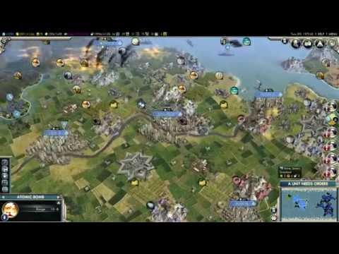 Civilization V: Nuclear War - America Vs. France