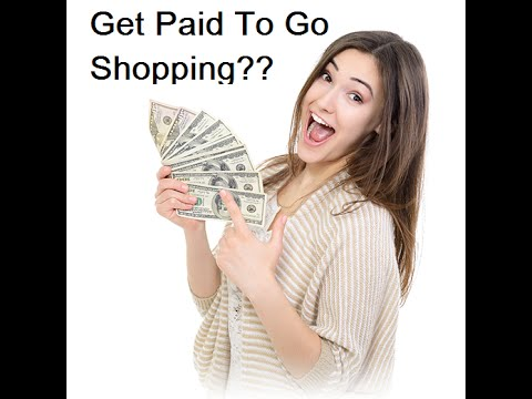 mystery shopper jobs- get paid to shop !