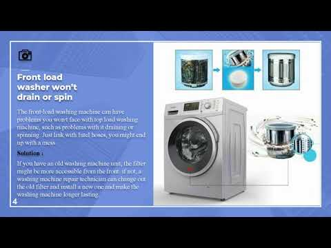 Best Washing Machine Repair Service At Home Youtube