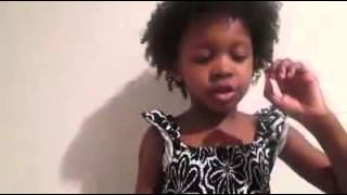 """""""Train up a child..."""" Yada reciting Bible Verses. WOW!"""
