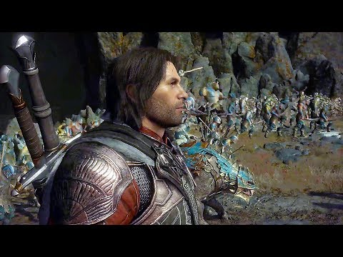Shadow of War - NEW Gameplay The Cirith Ungol Region (Open-World)