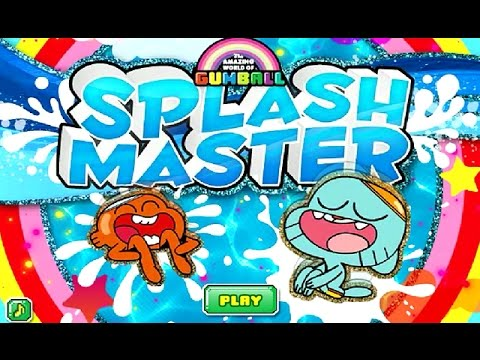 The Amazing World of Gumball - SPLASH MASTER (Cartoon Network Games)