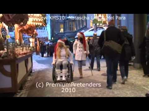 Amputee and wheelchair pretender Xmas special