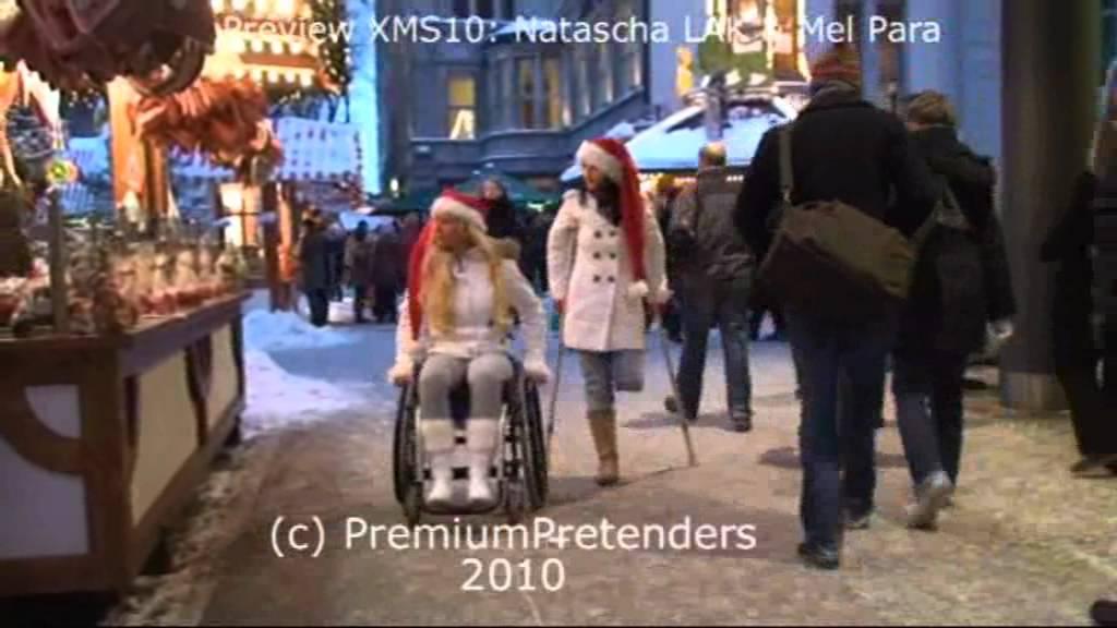 Amputee and wheelchair pretender Xmas special - Video - ViLOOK