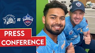 Pant & Ponting's Interview Match Preview | CSKvDC | IPL 2021