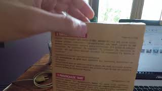 Deux tartes Provençales- reading a french food product label