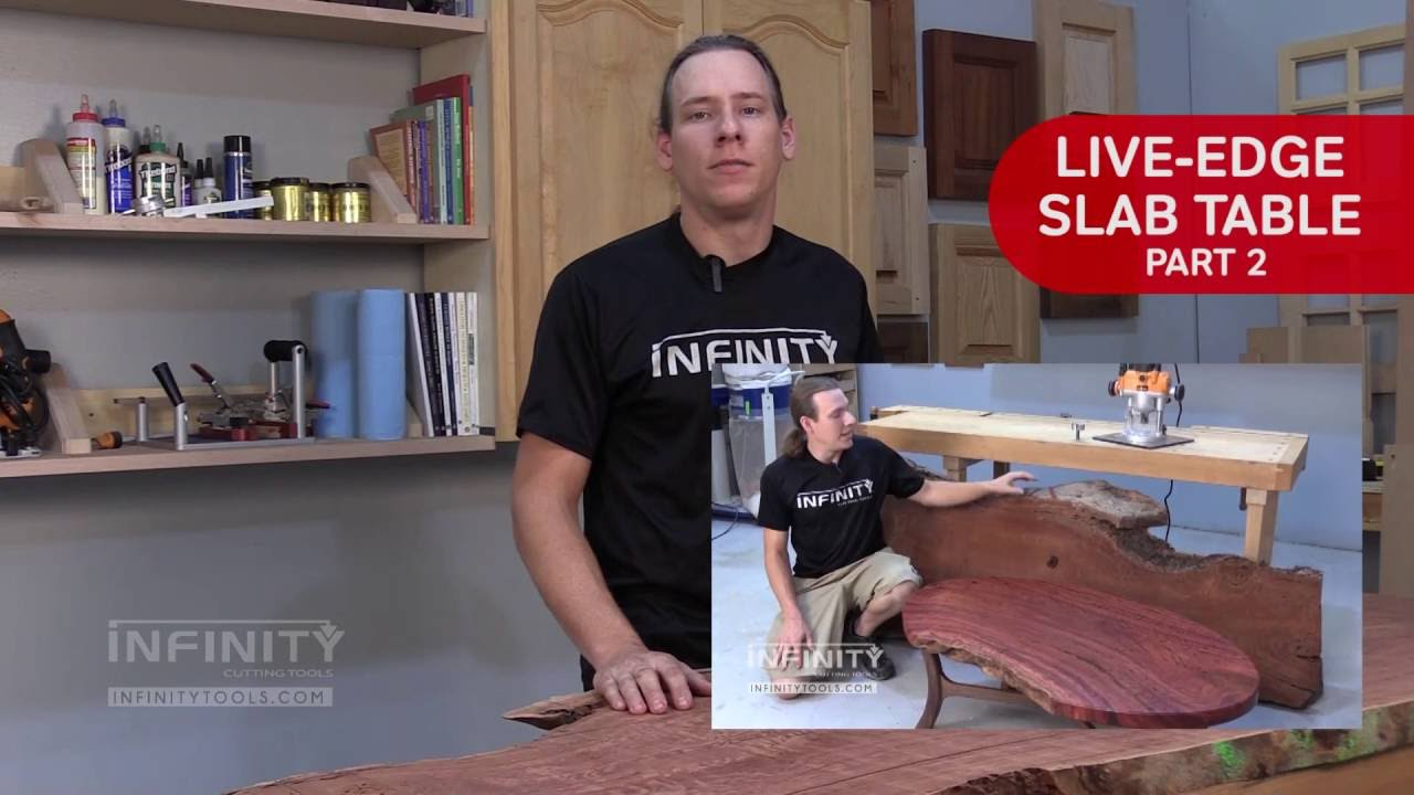 how to make a slab table