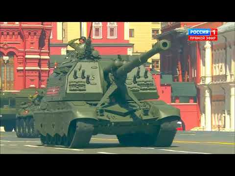Russian Victory Day Parade 2018 - Army Assets