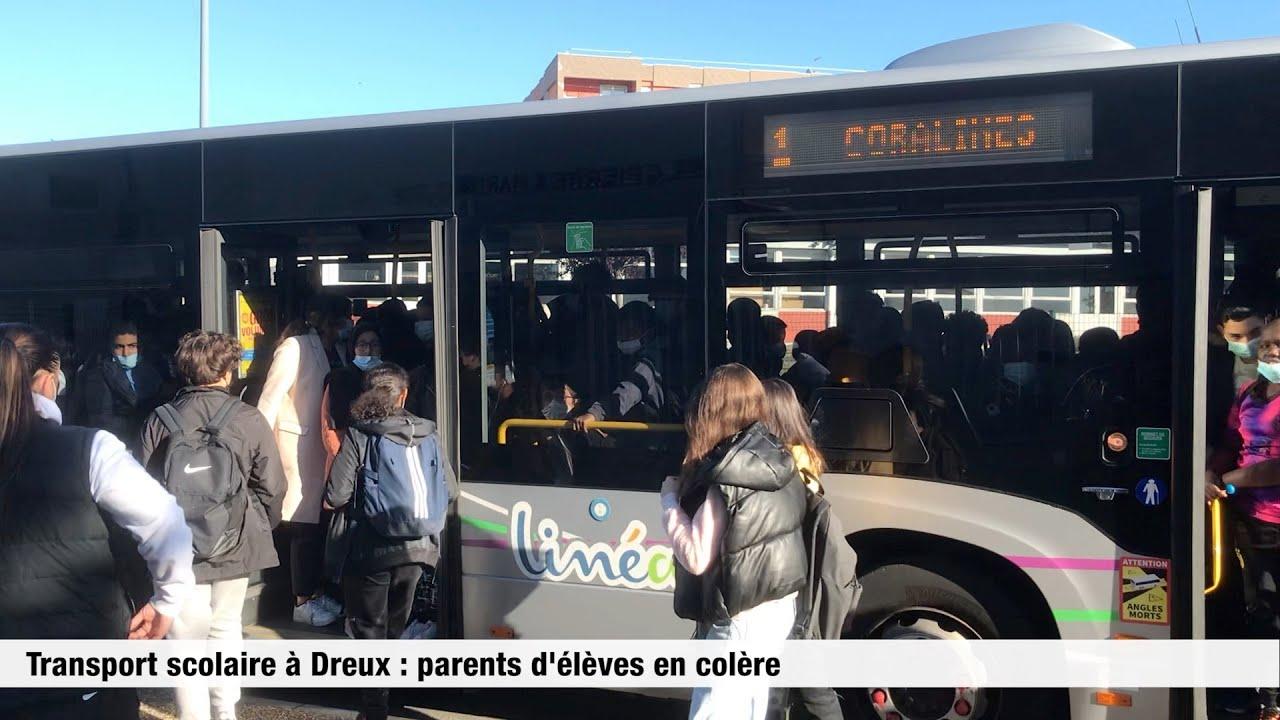 Transport scolaire à Dreux : parents d'élèves en colère
