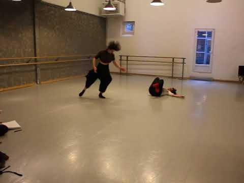 improvisation danse et violon Mars 2018_ duo