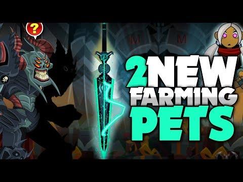 2 New Farming Pets! Nulgath's Birthday NEW RARES! AQW AdventureQuest Worlds