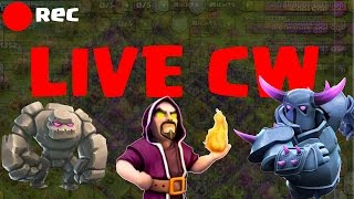 LIVE CLANWAR || CLASH OF CLANS CLANKRIEG || Let's Play CoC [Deutsch/German HD Android iOS]