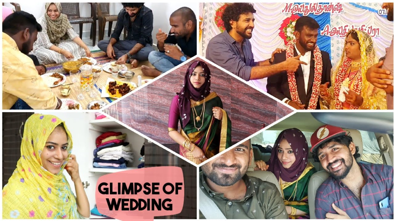 Wedding Glimpse &  மாப்பிள்ளை விருந்து / Get ready with me / day in my life / DIML tamil
