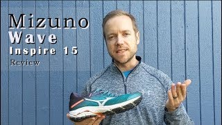 Mizuno Wave Inspire 15 test & review - Great stability running shoe