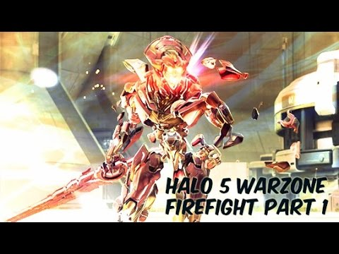 Warzone Firefight Update Livestream Part 1: Firefight Gameplay and the Wasp!! (Halo 5: Guardians)