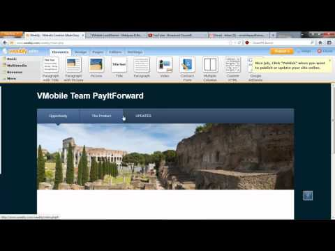 How to Create a Free Website with Weebly (TAGALOG)
