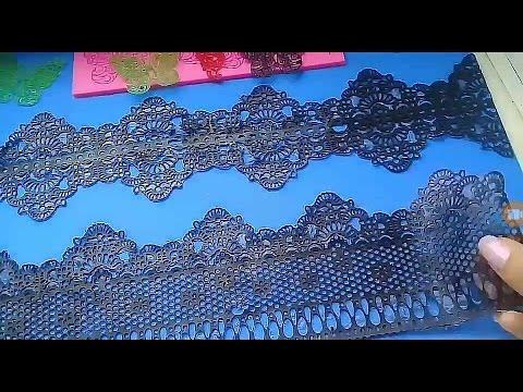 Как сделать коврик для кружева 21