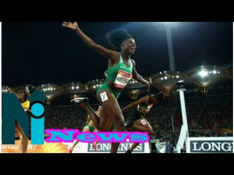 Nigeria's Amusan wins gold as Nigeria move up to 8th in Commonwealth games