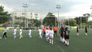 Protocolo partido femenino Copa Claro 2012