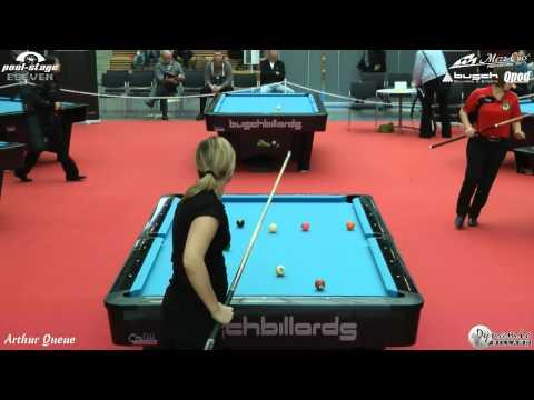 Mezz Cues German Open Ladies 2012, Tina Vogelmann vs Simone Künzl, Pool Billiards, 9-Ball