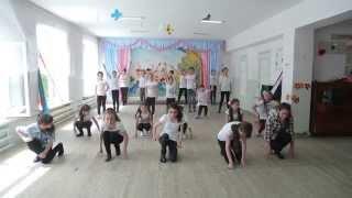 Урок Современного танца в школе искусств Барият Мурадовой