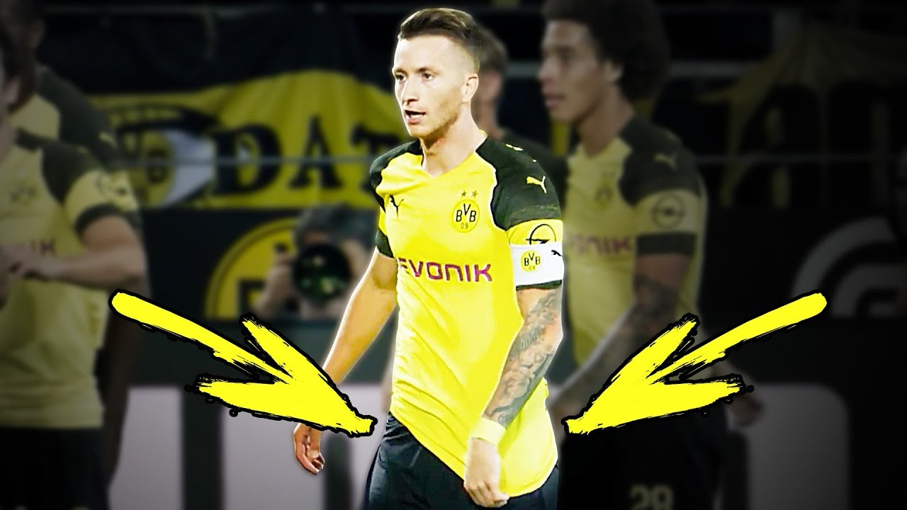 Marco Reus' funny ritual in every match for Borussia Dortmund ⚽