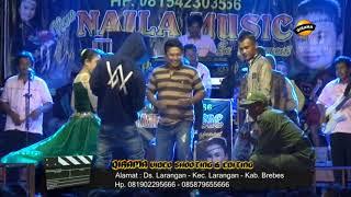 KOPI LAMBADA voc. Anisa - NAILA MUSIC ENTERTAINMENT Live Wlahar 23 Oktober 2017