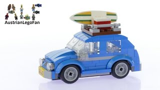 Lego Creator 40252 Mini Volkswagen Beetle - Lego Speed Build Review
