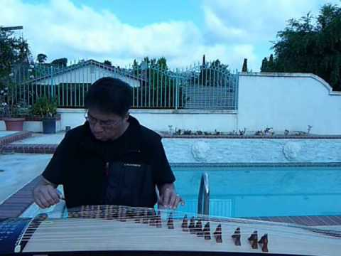 "Gu Zheng : Love Song By The River by Patrick Tam 古筝""河边情歌"""