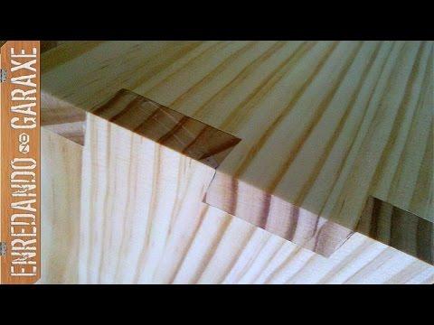 10 uniones o ensambles de madera que puedes encontrar en