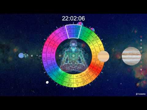 "Icosmo Clock (22h) - Kosma Solarius ""OM Frequency 432Hz"" (Meditation)"