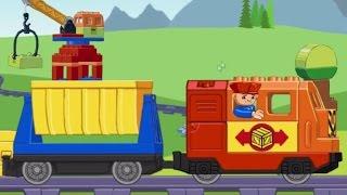 Обзор приложения: GFK Lego Train. Игры для детей