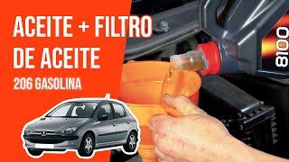 [ TUTORIAL PEUGEOT 206 GASOLINA ] Cómo vaciar y cambiar el filtro de aceite