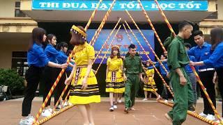 [26/3/2018] Nhảy Sạp : Tình Dân Quân - Chi Đoàn 12A1